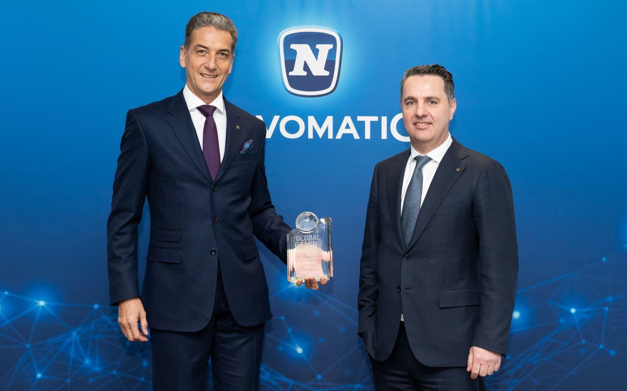 Harald Neumann and Thomas Graf (Novomatic)