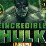 Incredible Hulk slot 50 lines