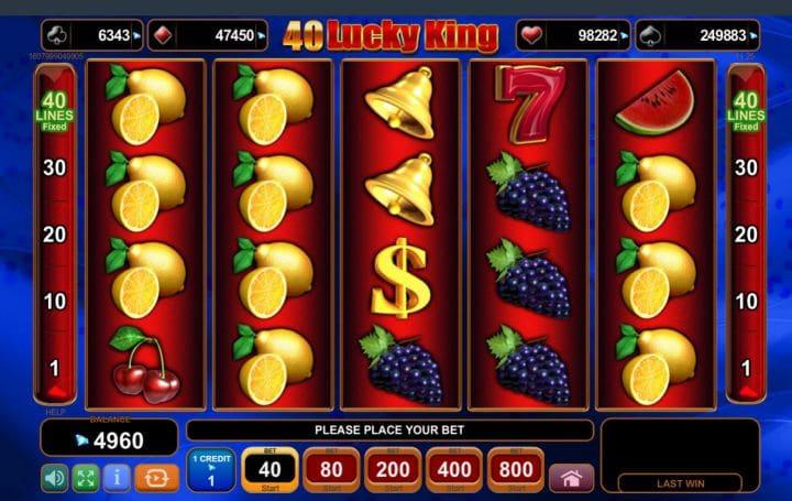 40 Lucky King