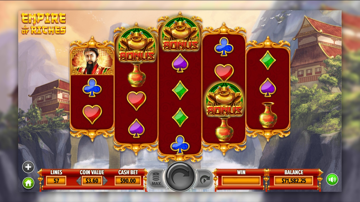 Empire of Riches Dragon Gaming Slot