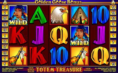 Golden Goose Totem Treasure