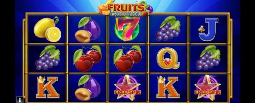 Fruits Evolution World Match Slot Game