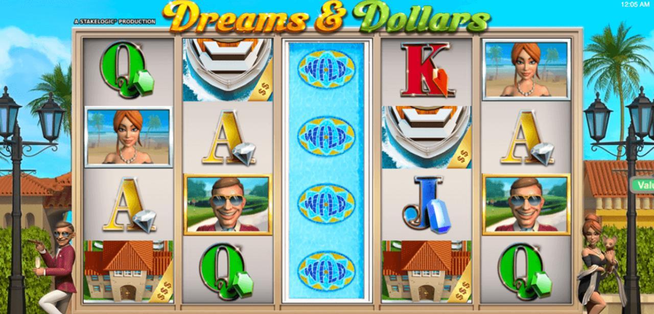 Dreams & Dollars StakeLogic Slot