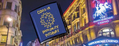 Hippodrome Casino COVID Passport