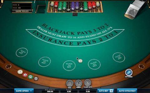 Atlantic City Blackjack Cryptologic