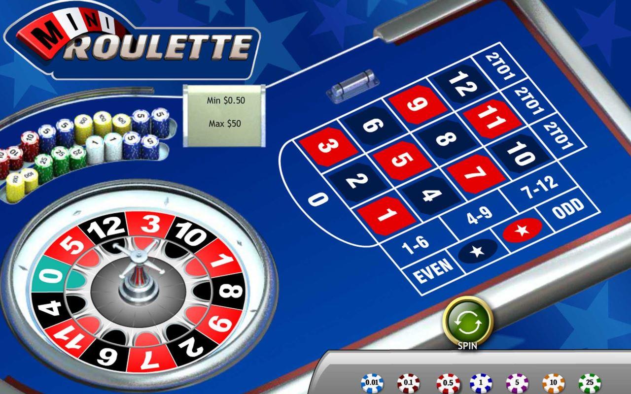 Mini Roulette Logo