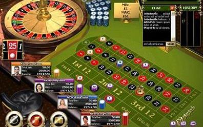 Multiplayer European Roulette Playtech