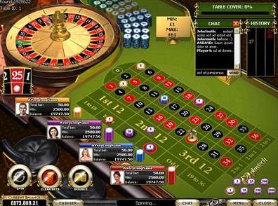 Multiplayer European Roulette Logo