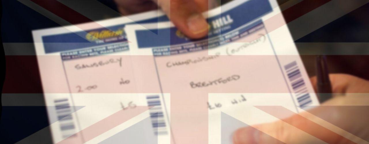 UK Betting Slip, Betting Shop